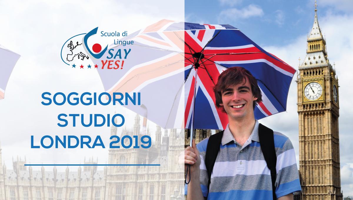 Soggiorni Studio - Londra 2019 - Say Yes, Scuola di Inglese - Latina ...